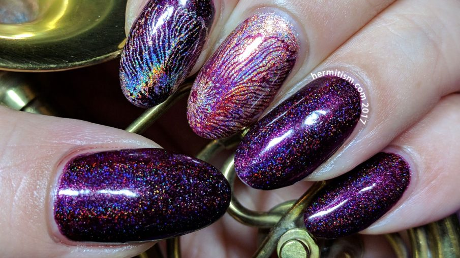 February Sparkles - 30 Days of Color - Hermit Werds