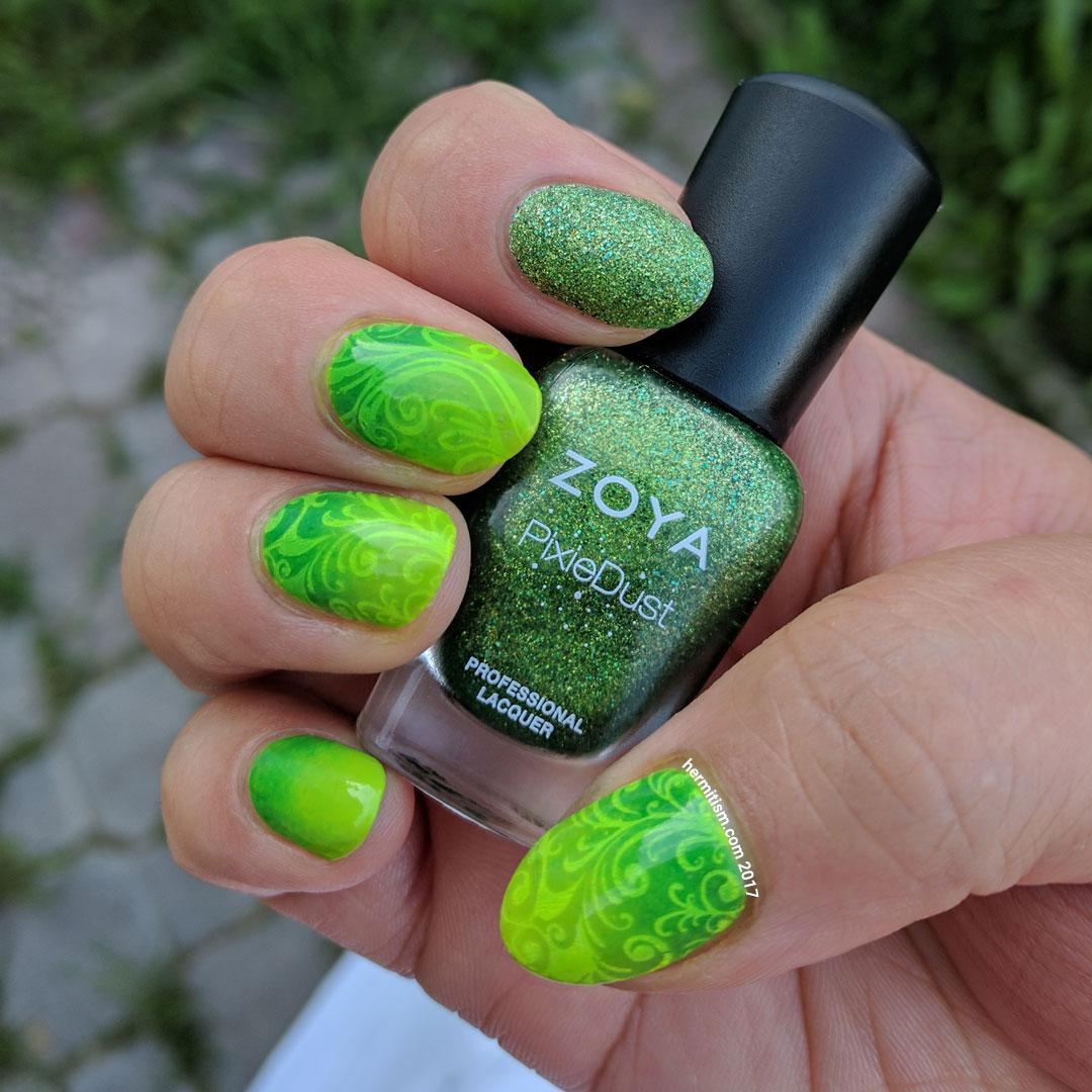 Accidental Turtle - Hermit Werds - neon green goodness