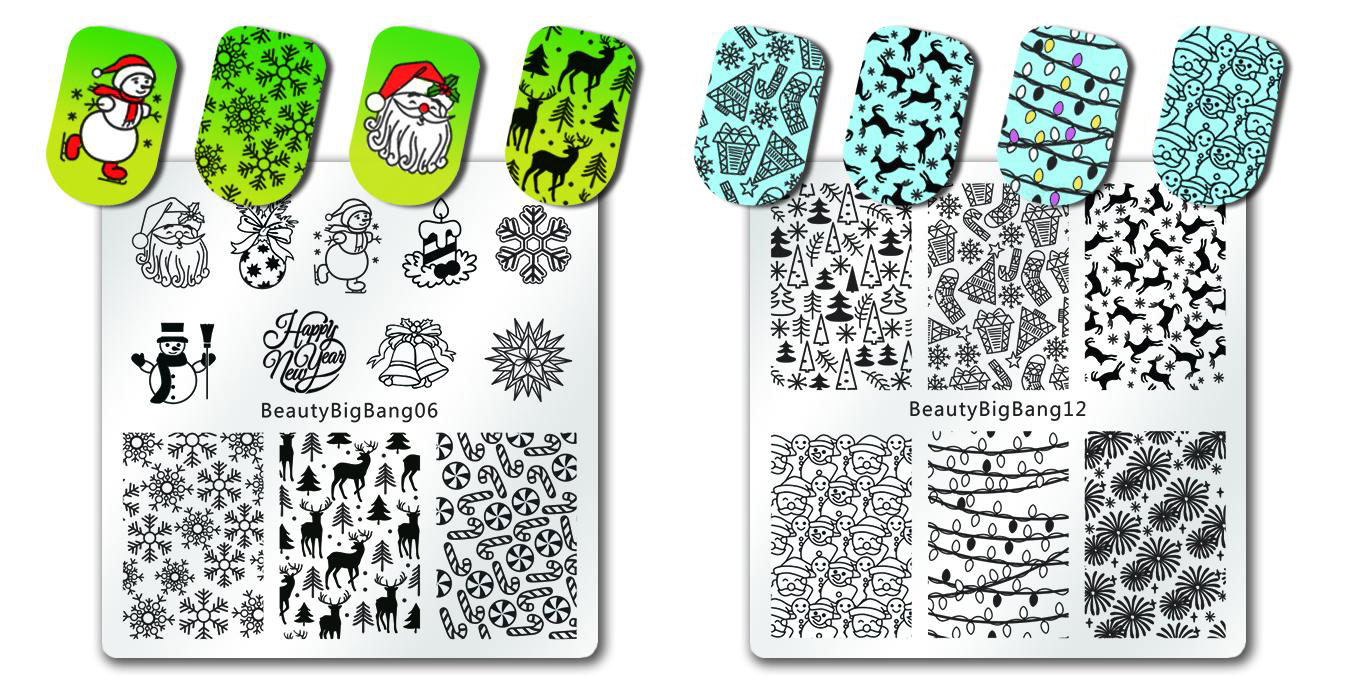 Beauty BigBang Review - stamping plates