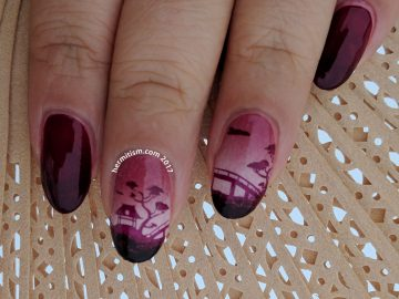 Red and Pink - 26 Great Nail Art Ideas - Hermit Werds