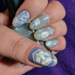 Spring Bee - Hermit Werds - 26 Great Nail Art Ideas - 30 Days of Colour