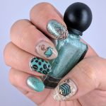 Delicately Coffee - Hermit Werds - Nail Crazies Unite (Delicate Pattern)