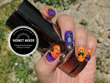 Drink-cation - Hermit Werds - #26greatnailartideas (Going on Holiday)