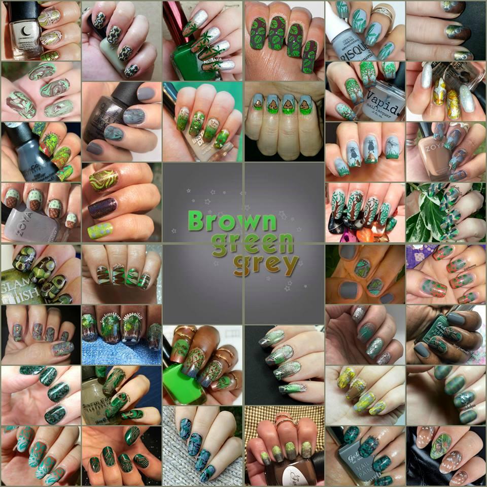#WhenColoursCollide - Brown/Green/Grey