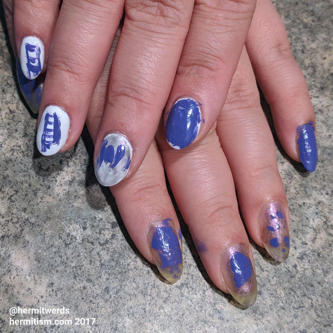 Moira's First Nails - Hermit Werds