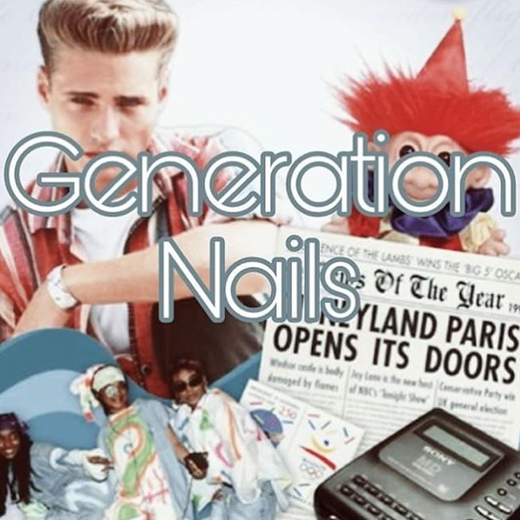 #NailAddictsCollab - February 2018 Prompt - Generation Nails