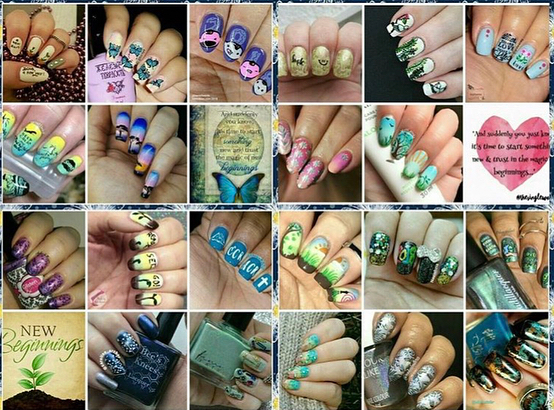 #NailsWithIgFriends - New Beginnings Collage