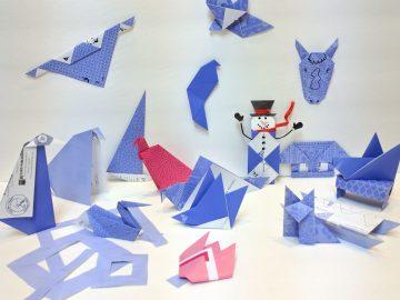 #OrigamiDaily2007 - January's Origami