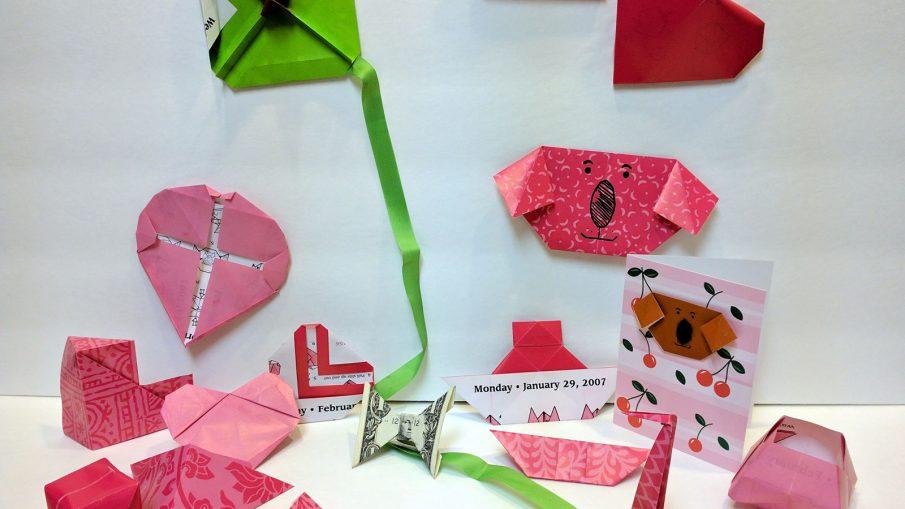#OrigamiDaily2007 - February's Origami