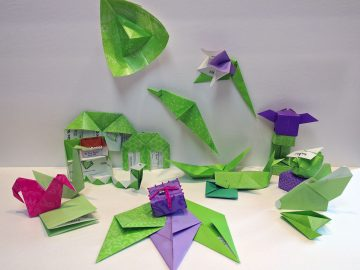 #OrigamiDaily2007 - March's Origami