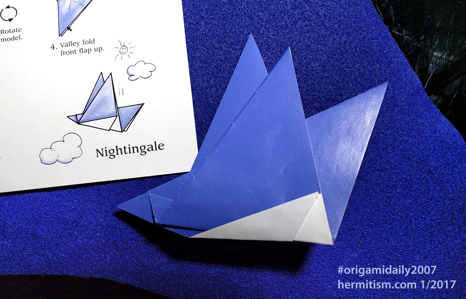 Origami Daily Calendar 2007