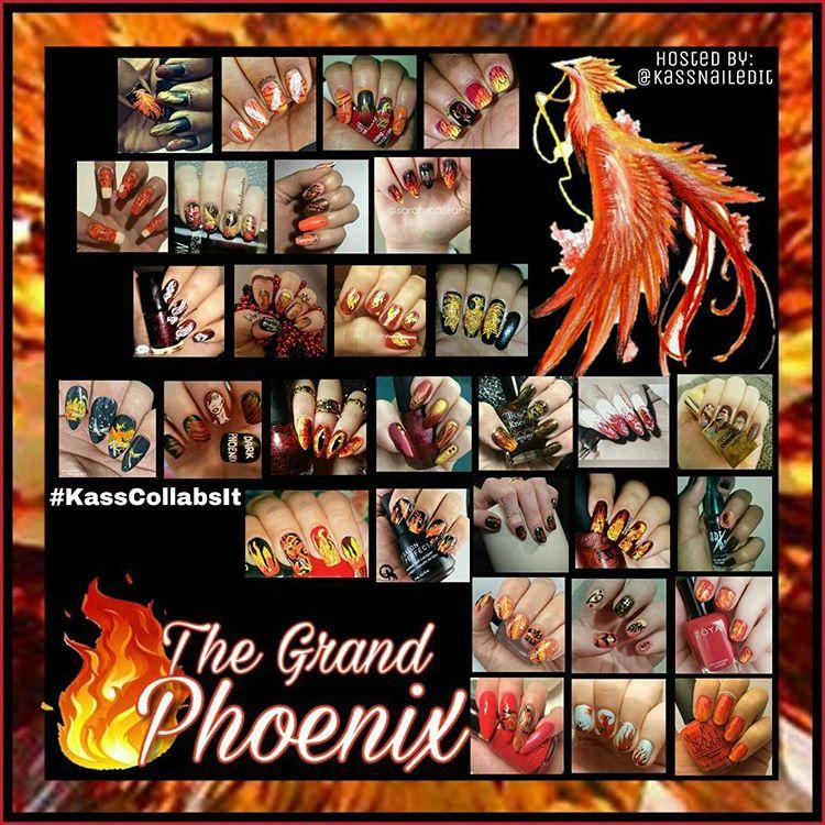 @kassnailedit's Phoenix Birthday Collage