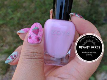 Strawberry Sweetness - Hermit Werds - Nail Crazies Unite (fruits)