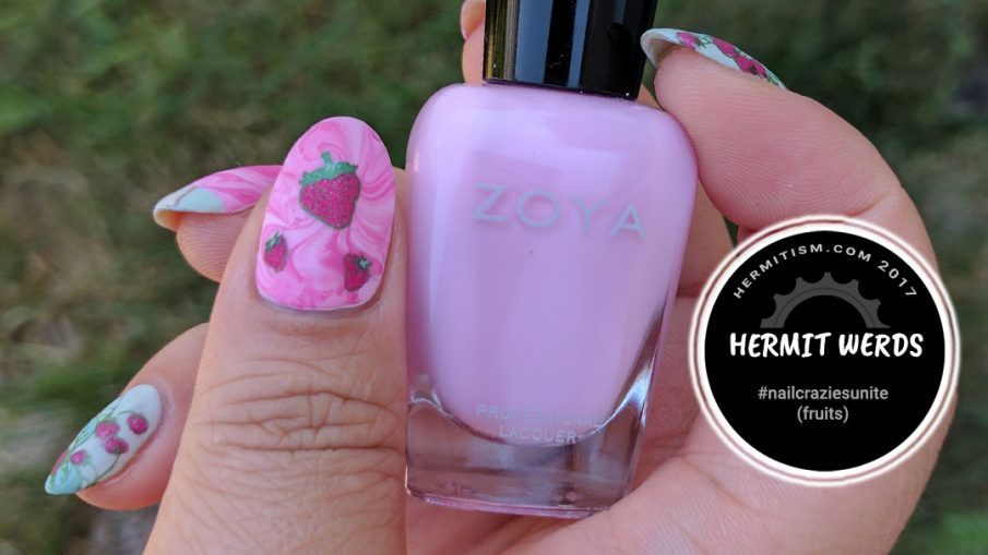 Strawberry Sweetness - Hermit Werds - Nail Crazies Unite (fruits)