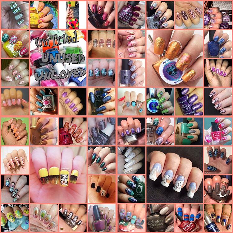 #NailAddictsCollab - January 2018 - Untried/Unused/Unloved