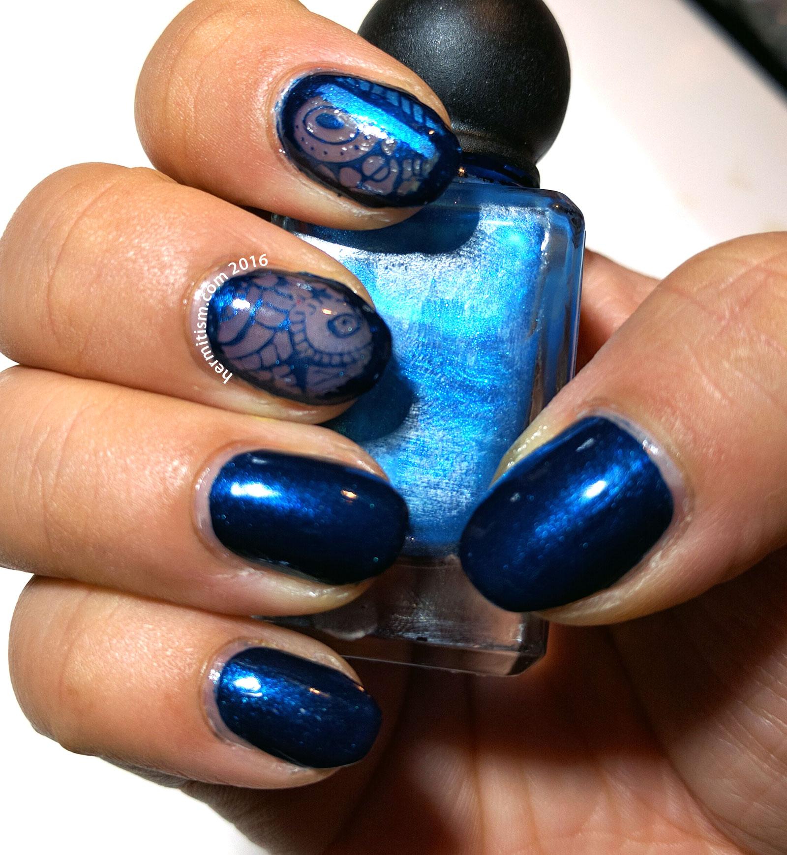 Blue - 31 Day Challenge - Hermit Werds