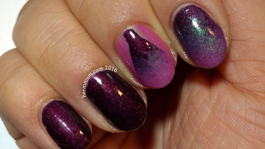 Gradient - 31 Day Nail Art Challenge - Hermit Werds