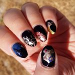 H is for Hogwarts - ABC Nail Art Challenge - Hermit Werds
