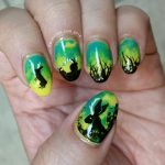 J is for Jackalope - ABC Nail Art Challenge - Hermit Werds
