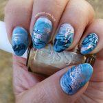K is for Koi - ABC Nail Art Challenge - Hermit Werds