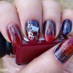 N is for Neko - ABC Nail Art Challenge - Hermit Werds