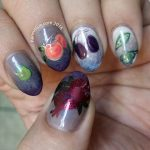 P is for Pair - ABC Nail Art Challenge - Hermit Werds