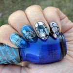 S is for Steampunk - ABC Nail Art Challenge - 31 Day Challenge (delicate) - Hermit Werds