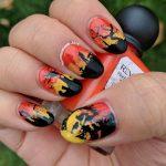 U is for Undead - ABC Nail Art Challenge - 31 Day Challenge (supernatural) - Hermit Werds