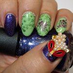 V is for Vixen - ABC Nail Art Challenge - Hermit Werds