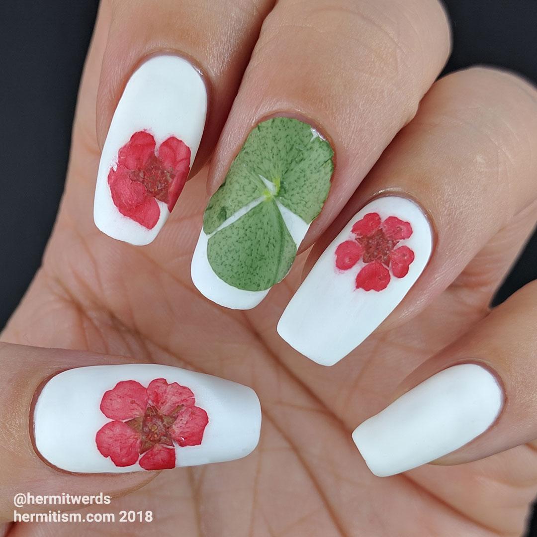 Dried Clover/Flowers - matte - Hermit Werds