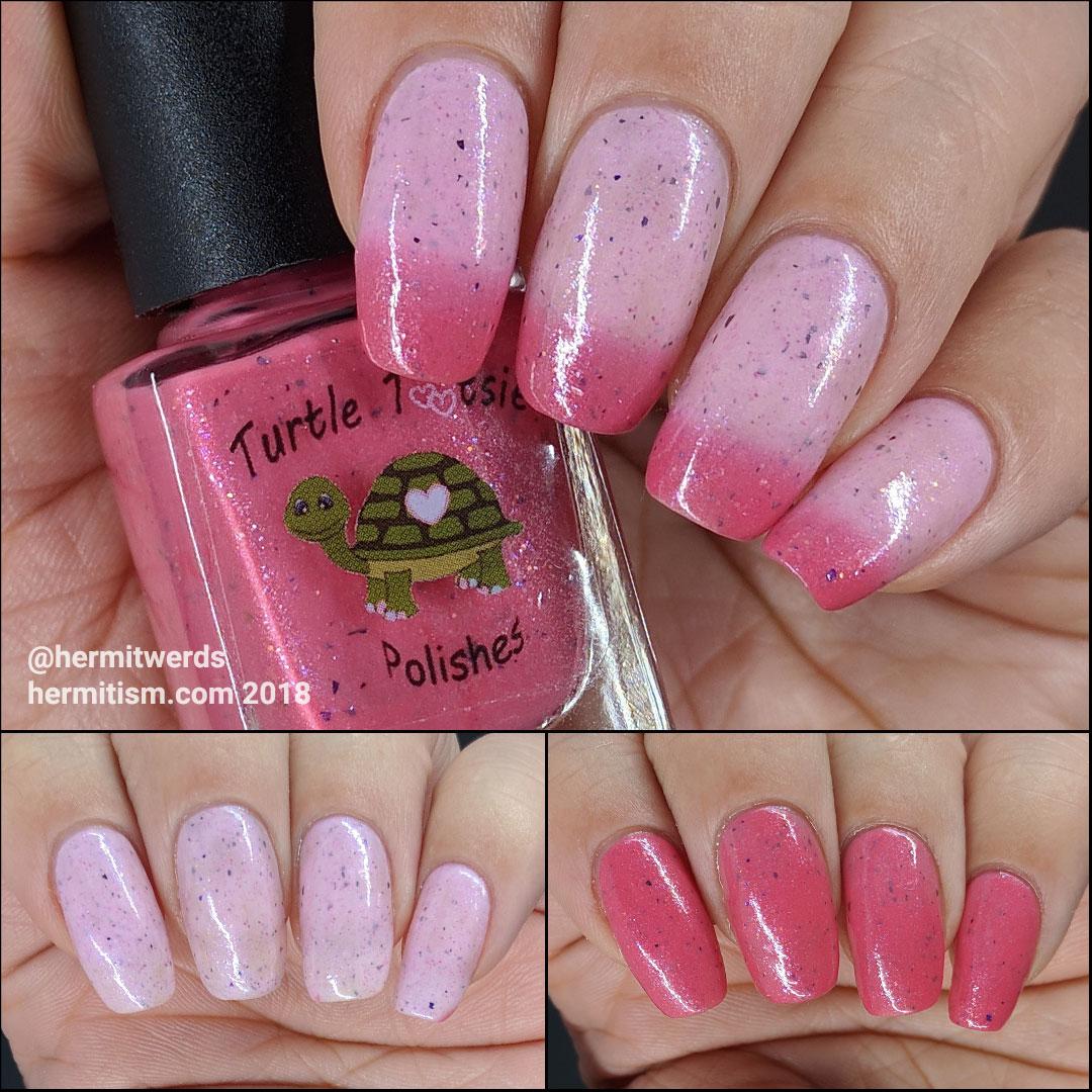 """Turtle Tootsie's """"Pink Velvet"""" - photo from Hermit Werds"""