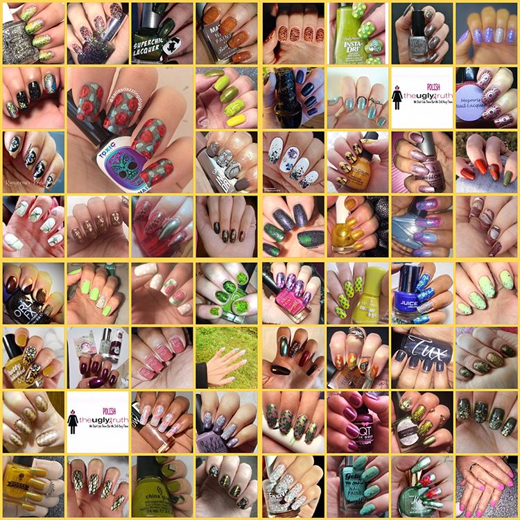 #NailAddictsCollab - March collage