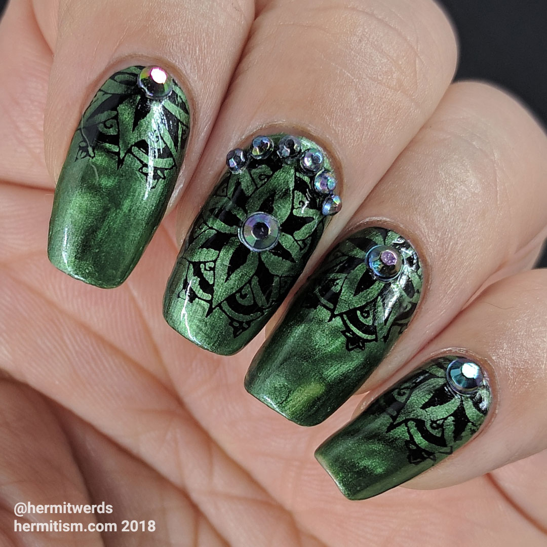 Magnetically Green – Thoughts on China Glaze Magnetix Magnets ...