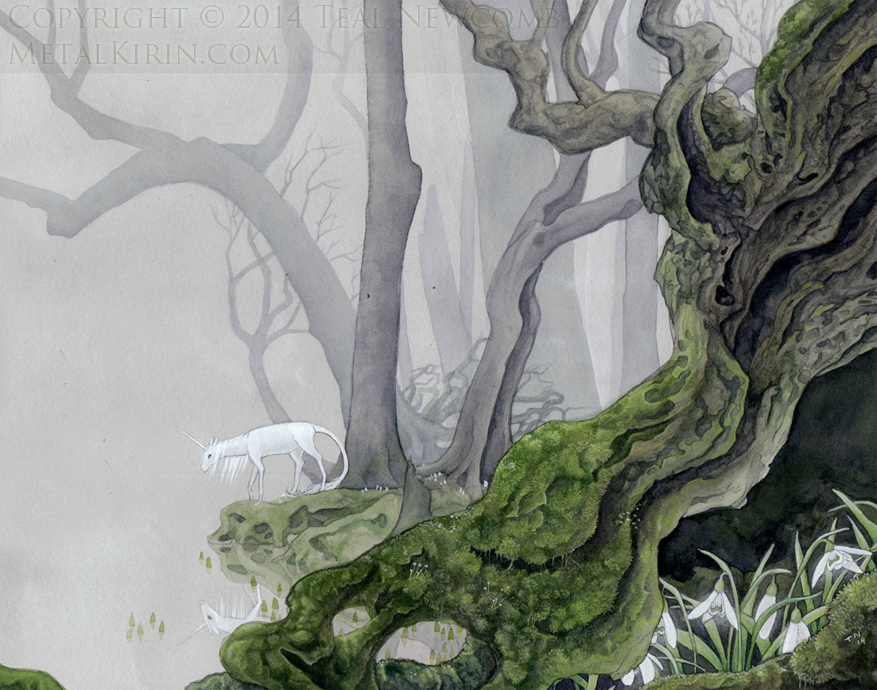 Contemplative by Teal Newcomb