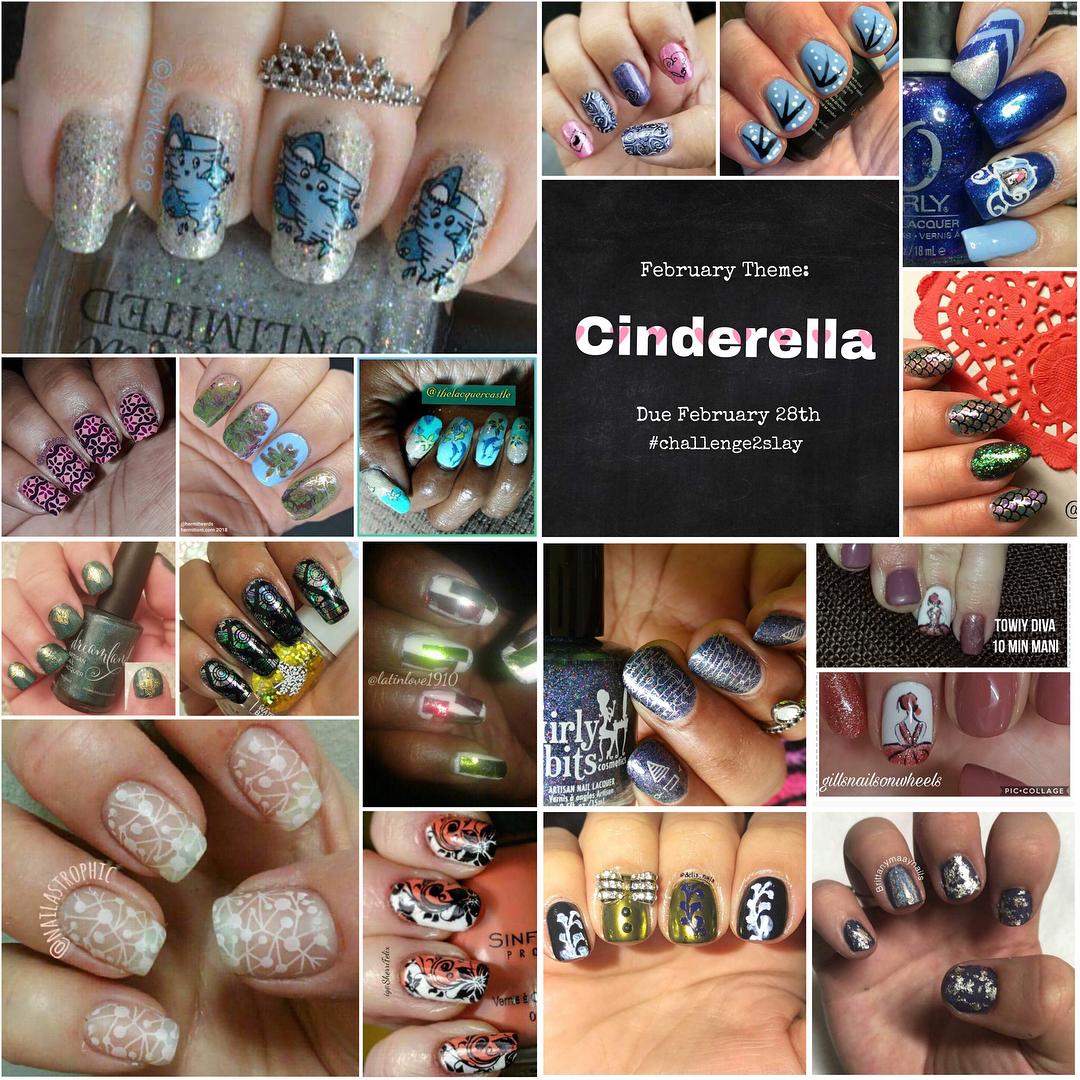 Cinderella collab - @swatchslayer