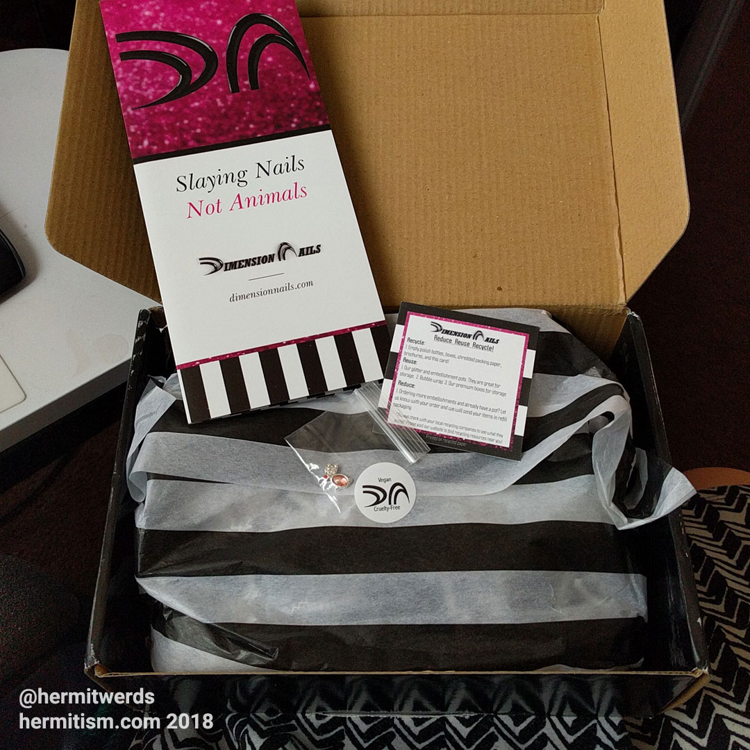 Dimension Nails Unboxing- Hermit Werds