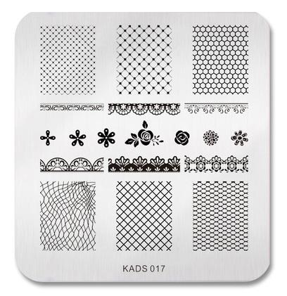 KADS 017 stamping plate
