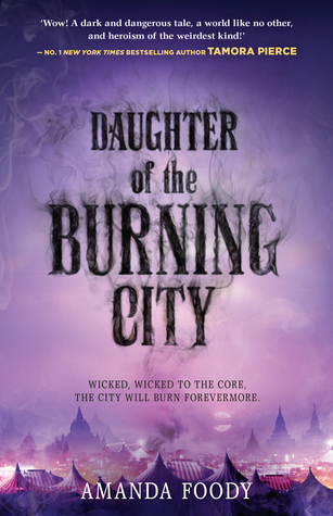 Daughter of the Burning City - book cover