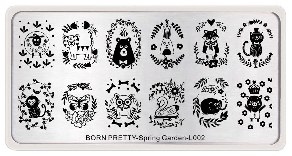 Born Pretty-Spring Garden-L002