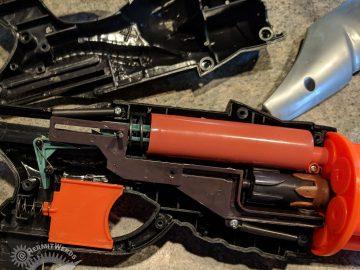 Dart Gun Mod - Hermit Werds - the insides of the dart gun
