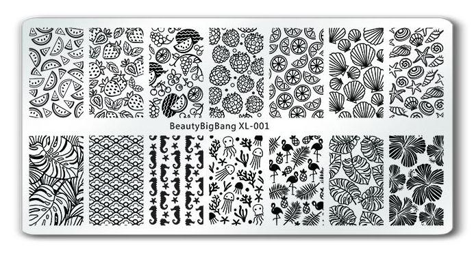 BeautyBigBang XL-001 stamping plate