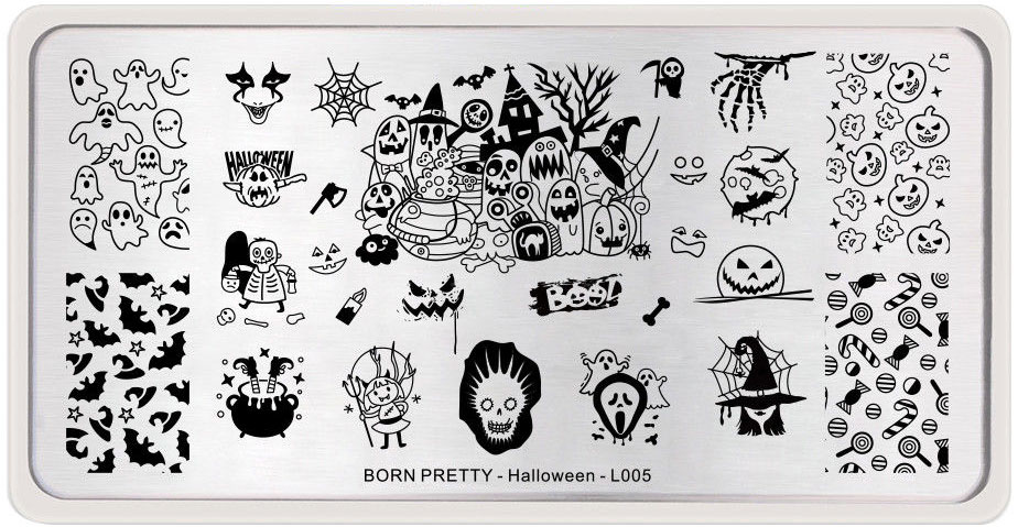Born Pretty - Halloween - L005