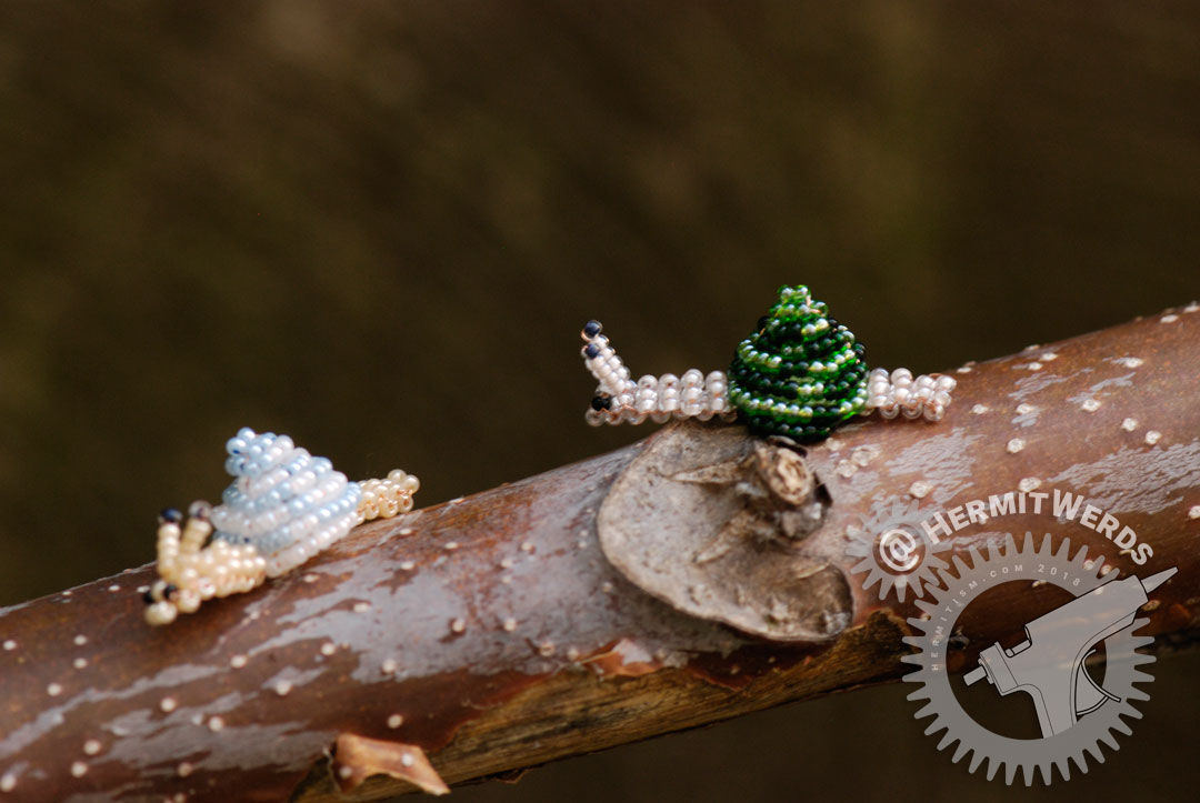 Bead Snails - Hermit Werds - Bead snails as we slowly progress towards integrating the old site with the new blog.
