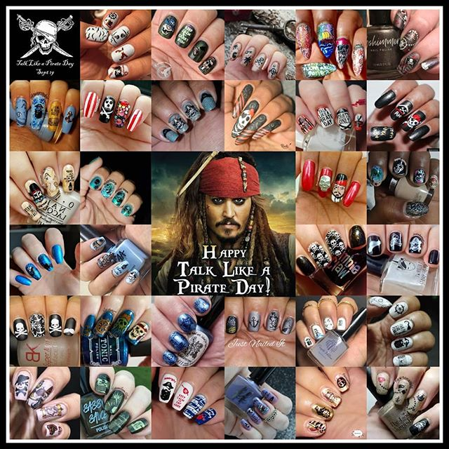 Talk Like a Pirate Day collage 2018