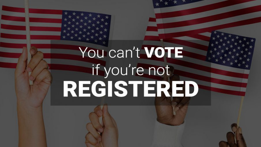 Register to Vote this October