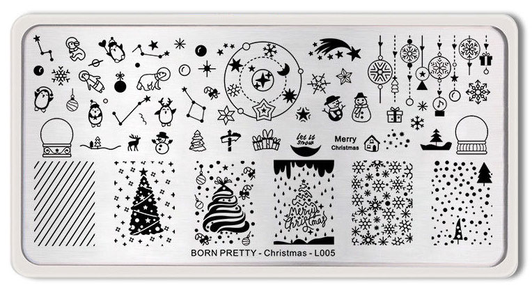 Born Pretty Christmas-L005