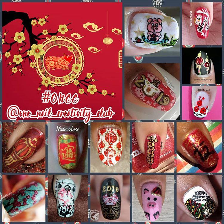#onenailcreativityclub - Chinese New Year