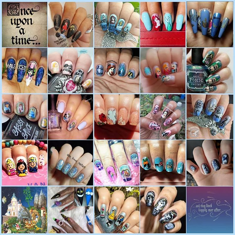 #NailChallenge - Fairy Tale collage