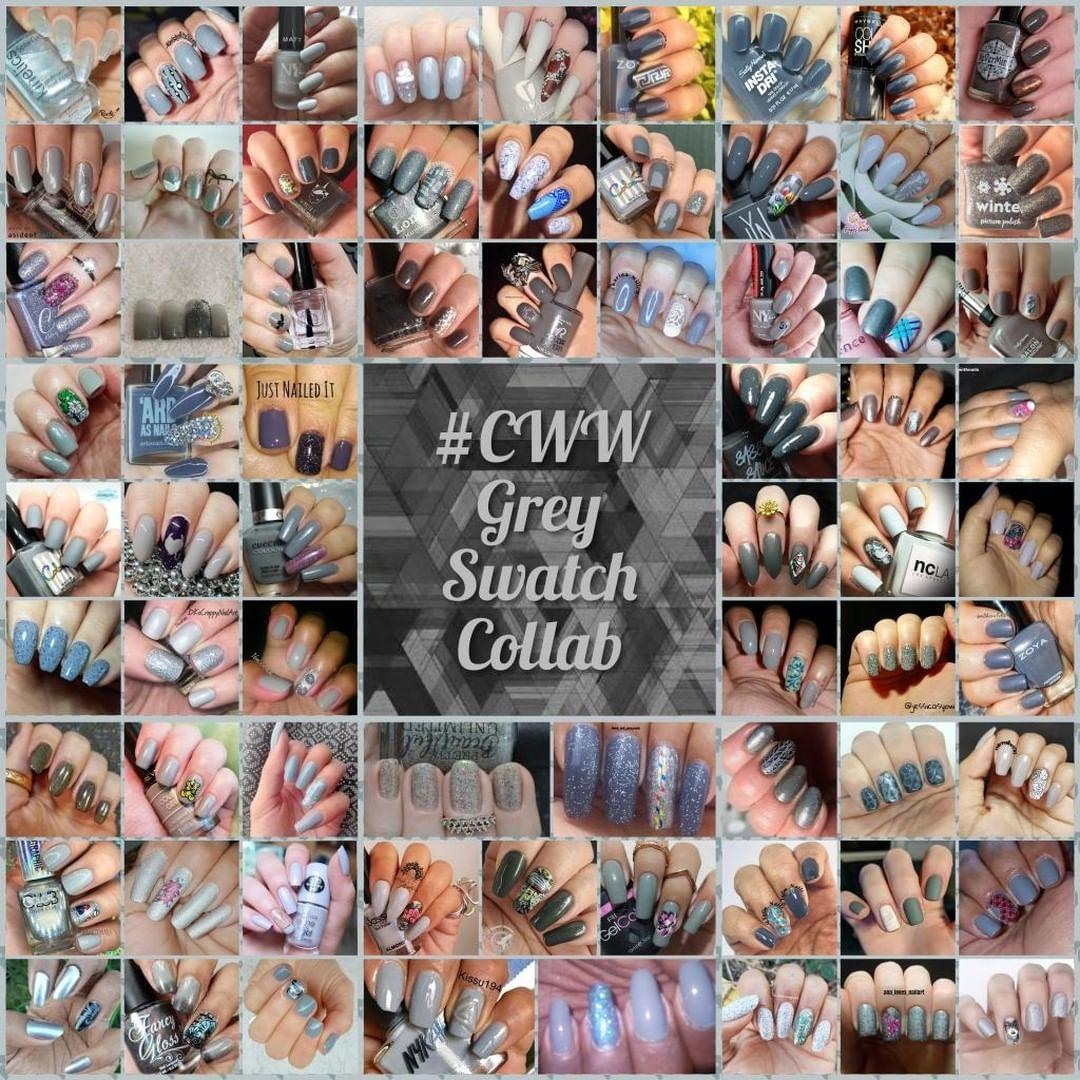 #ColoursWithinWomen - Grey collage - Hermit Werds