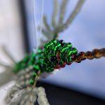 Lisa's Bead Ruby-Throated Hummingbird